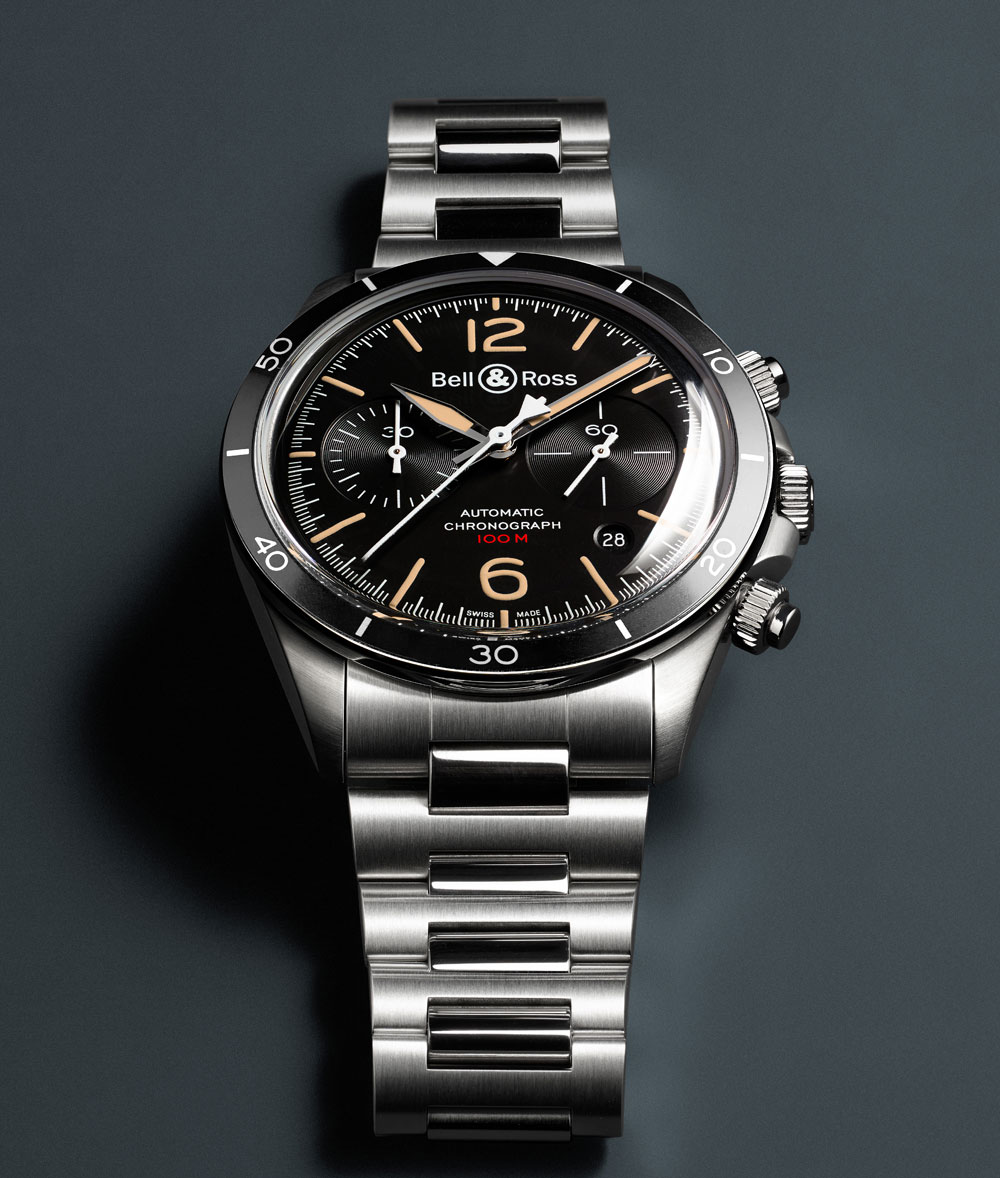 Reloj BELL & ROSS VINTAGE STEEL HERITAGE