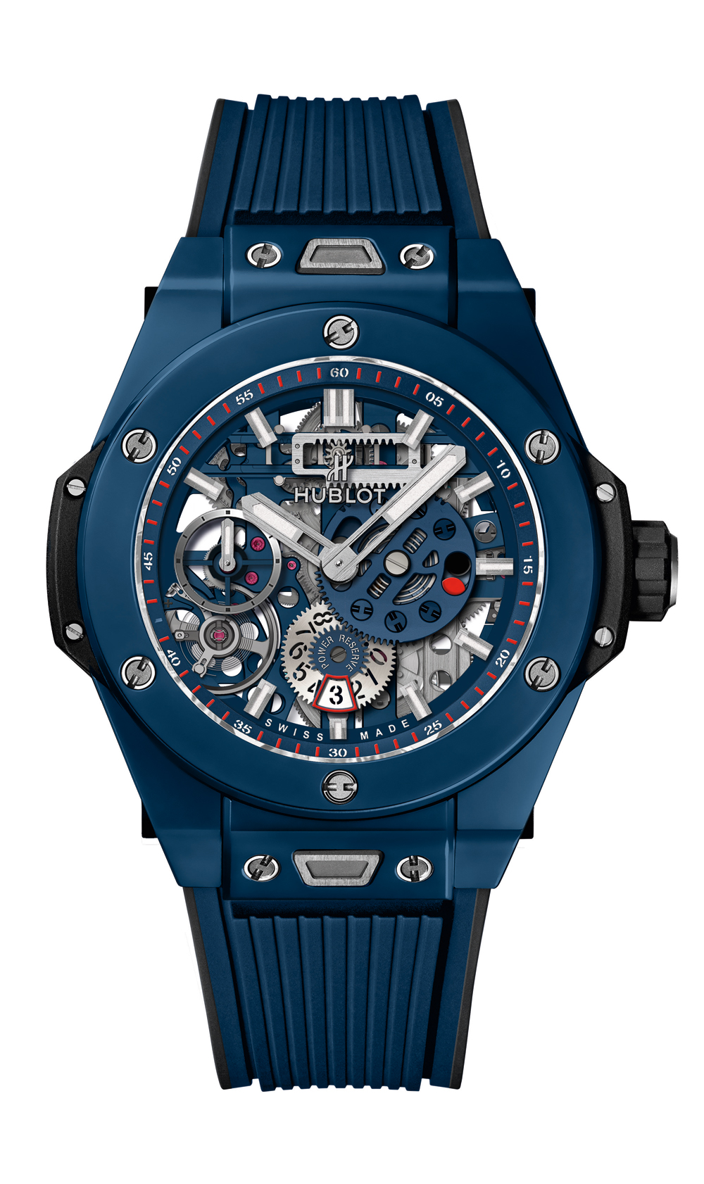 Reloj Hublot Big Bang Meca-10 10 Day Power Reserve Blue Ceramic