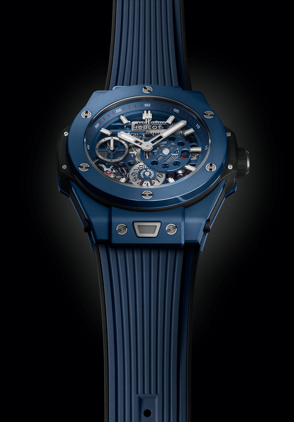 Hublot Big Bang Meca-10 10 Day Power Reserve Blue Ceramic