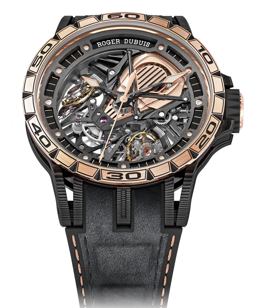 Reloj RogerDubuis Excalibur Aventador S Lamborghini
