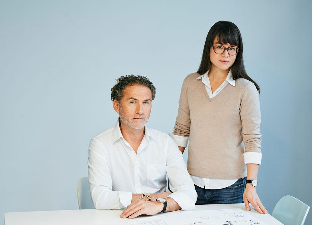 Los diseñadores Werner Aisslinger y Tina Bunyaprasit