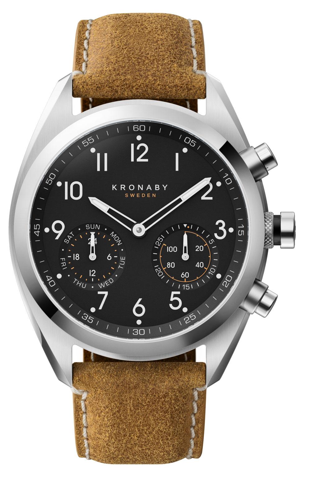 Nuevo reloj Apex de Kronaby con caja de 43 mm