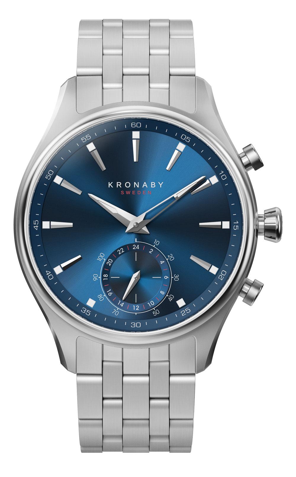 Nuevo reloj Sekel de Kronaby con caja de 41 mm