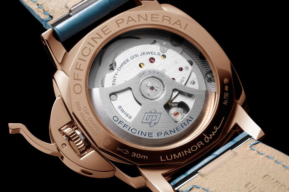Nuevo reloj Panerai Luminor Due 3 Days Automático Oro Rosso 38 mm