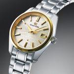 Reloj Grand Seiko equipado con el calibre 9F bicolor