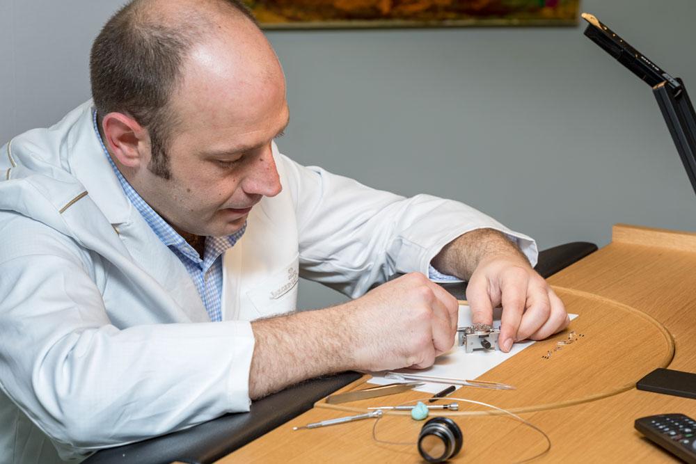 Juan Antonio Silverio, relojero de Jaeger-LeCoultre
