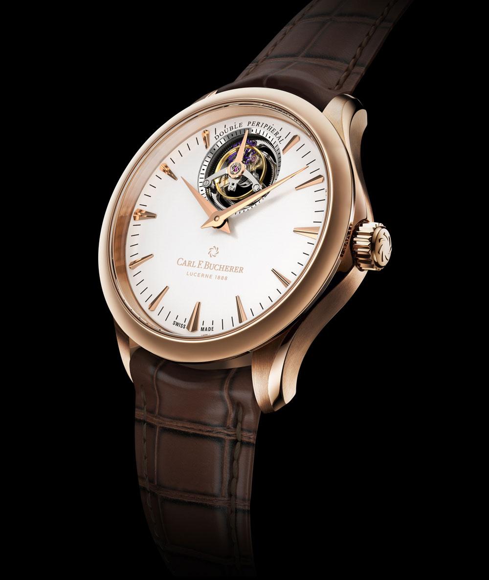 reloj Manero Tourbillon Double Peripheral de Carl f. Bucherer