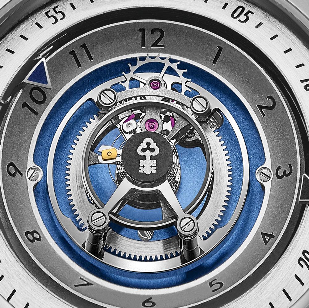 Reloj Bubble Central Tourbillon de Corum