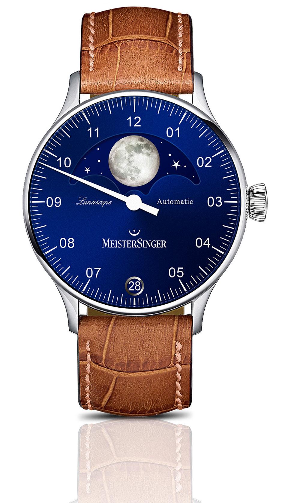 reloj MEISTERSINGER LUNASCOPE