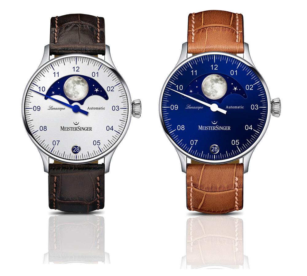 Relojes reloj MEISTERSINGER LUNASCOPE
