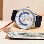 Reloj Autobahn de Nomos Glashütte con nuevo calibre neomatik fecha