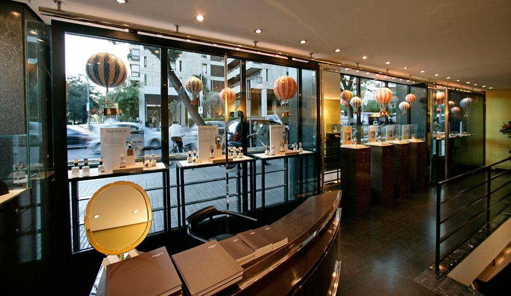 relojería The Watch Gallery de Barcelona