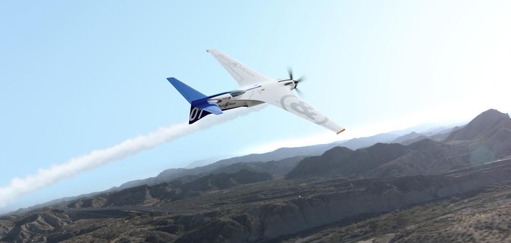 Máquina voladora Bell & Ross BR-Bird