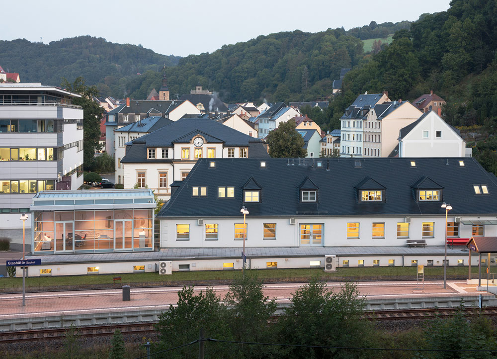 Manufactura de Nomos Glashütte en Glashütte (Alemania)