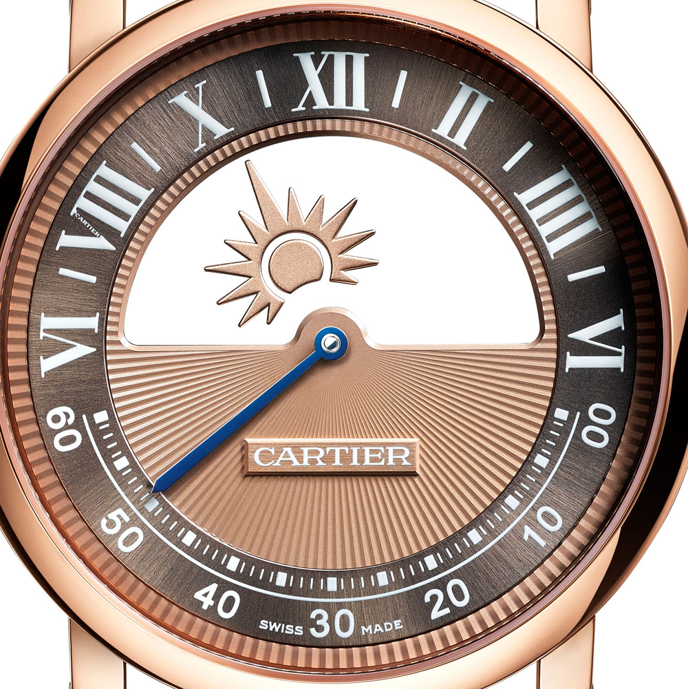 Esfera reloj ROTONDE DE CARTIER MYSTERIOUS DAY & NIGHT