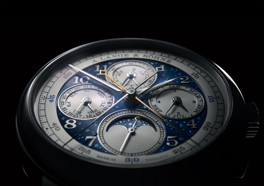 Esfera reloj 1815 Ratrapante Calendario Perpetuo Handwerkskunst de A. Lange & Söhne