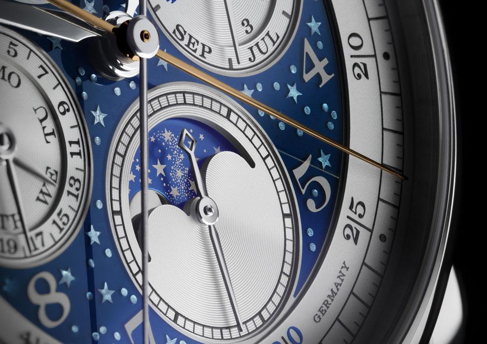 Indicador fases de Luna reloj 1815 Ratrapante Calendario Perpetuo Handwerkskunst de A. Lange & Söhne