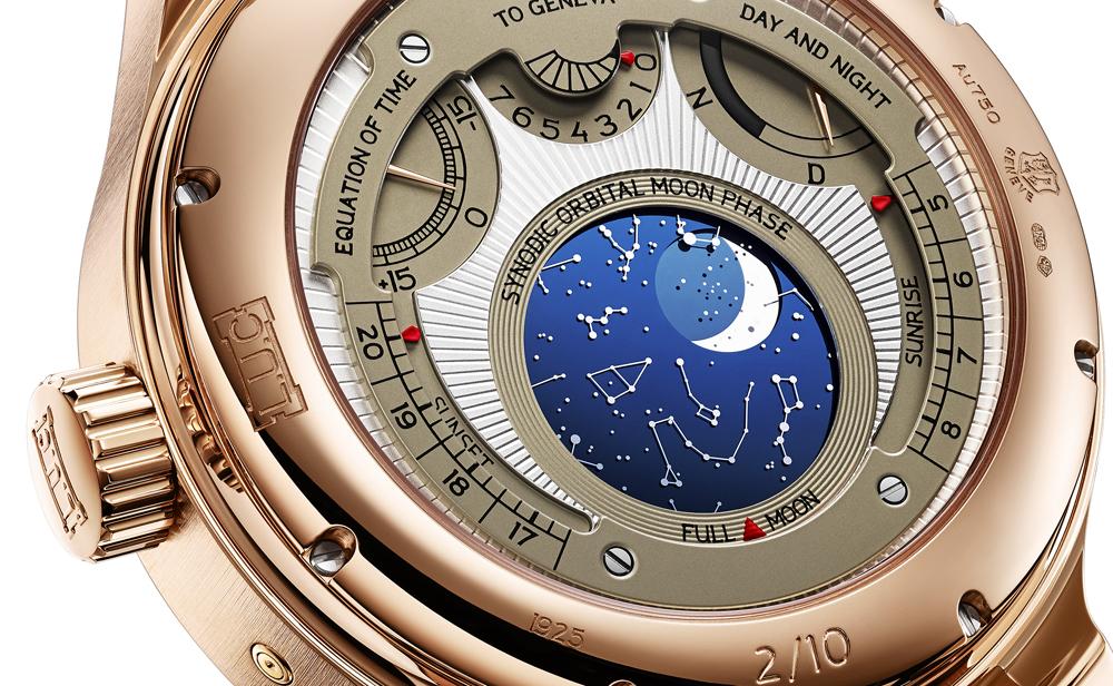 Indicador astronómico Reloj ultracomplicación de Chopard L.U.C All-in-One