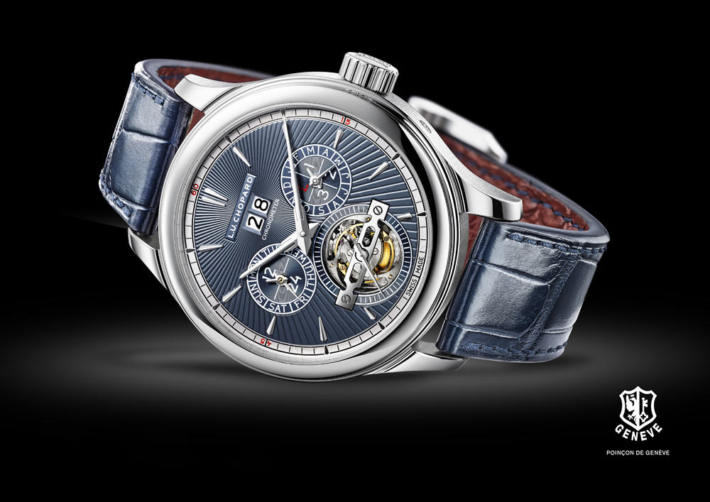 Reloj ultracomplicación de Chopard L.U.C All-in-One esfera azul