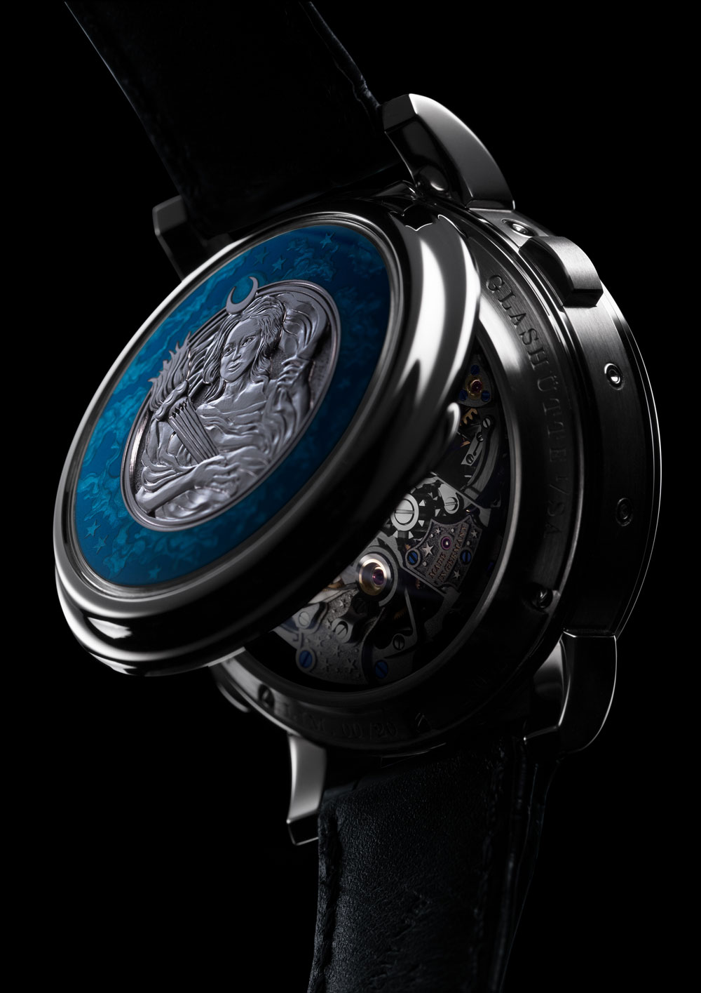 Tapa reloj 1815 Ratrapante Calendario Perpetuo Handwerkskunst de A. Lange & Söhne
