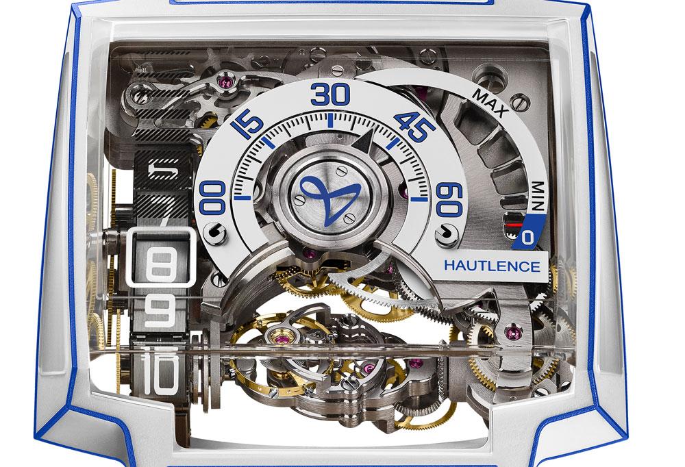 Esfera reloj Vortex Gamma Tron de Hautlance