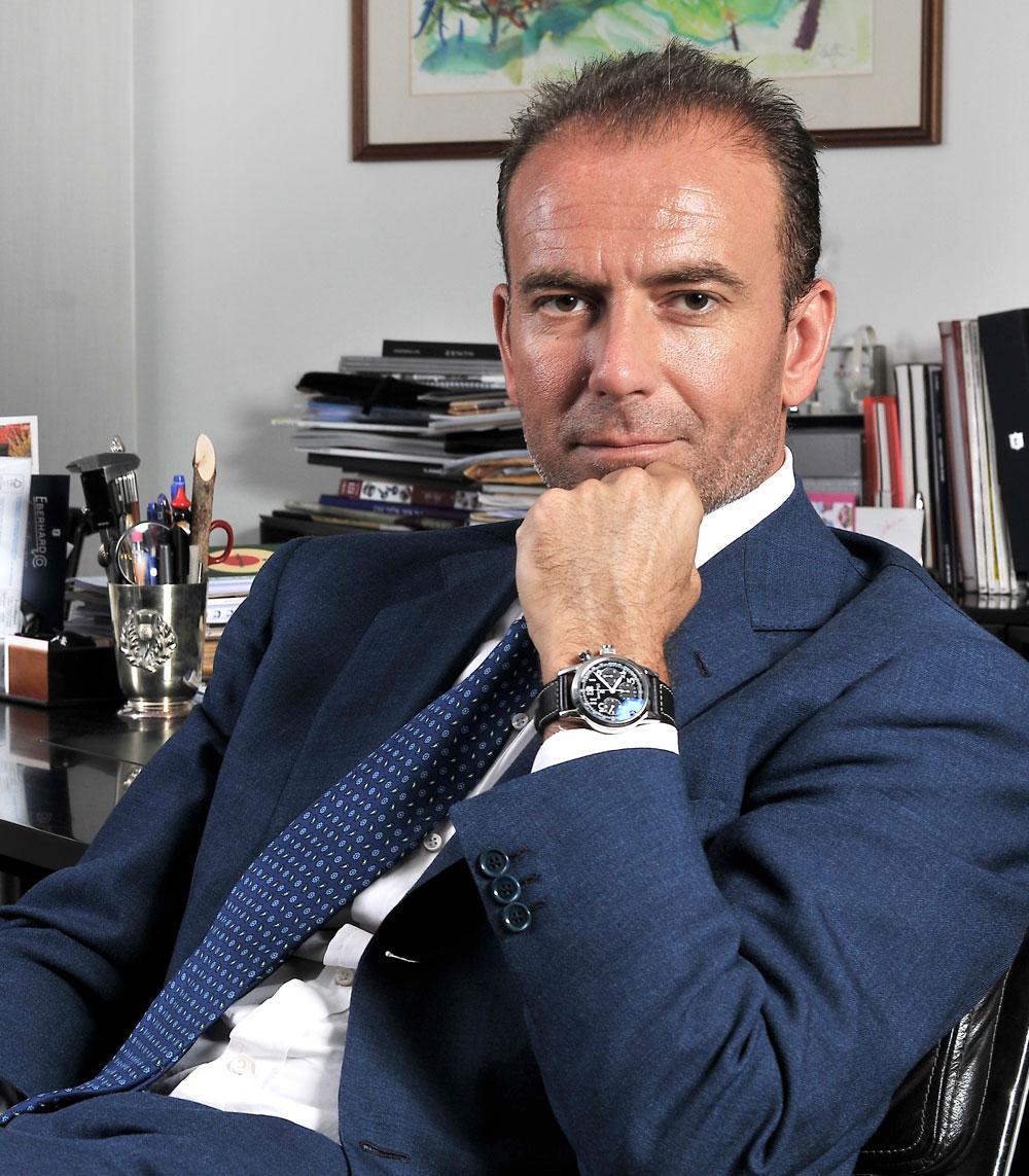 Mario Peserico, director general de Eberhard & Co