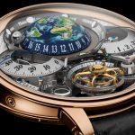 Caja con forma de atril reloj astronómico Récital 22 Grand Récital oro rosa