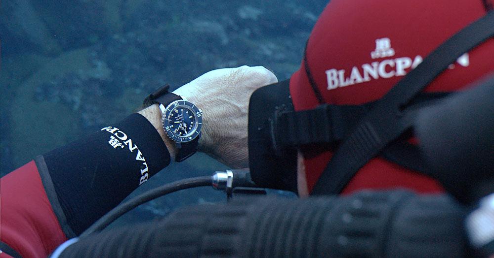 Reloj de buceo Fifty Fathoms Ocean Commitment III de Blancpain