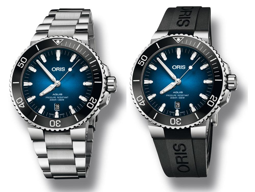 Reloj de buceo Oris Clipperton Limited Edition con brazalete y pulsera de caucho