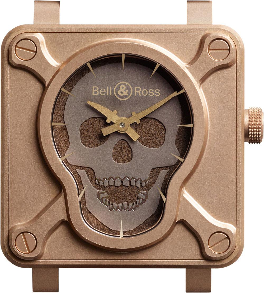 Reloj BR 01 Skull Bronze de Bell & Ross