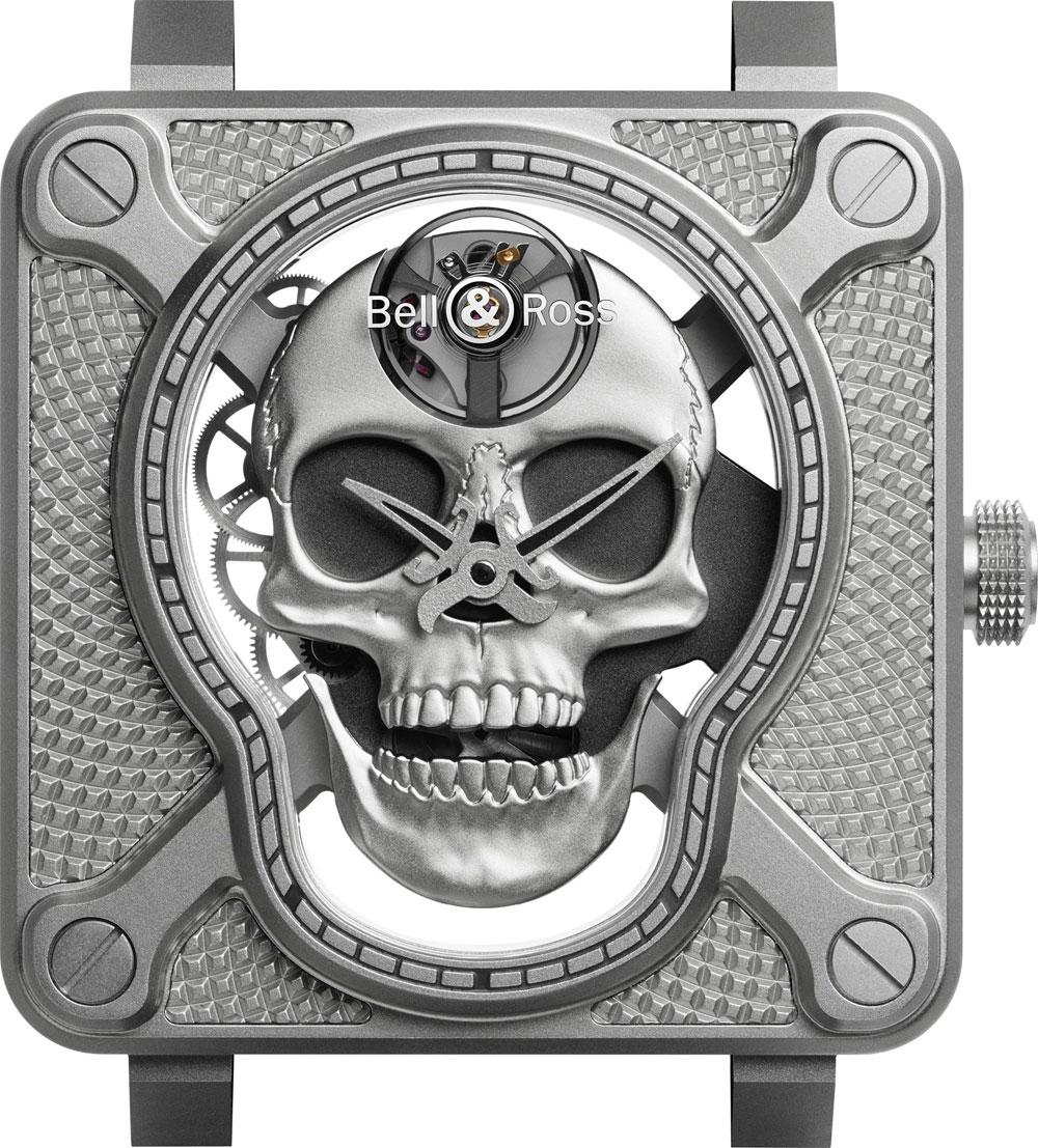 Reloj BR 01 Laughing Skull de Bell & Ross