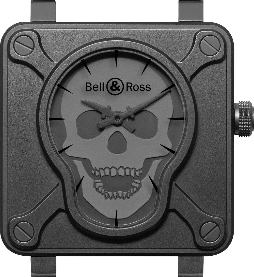 Reloj BR 01 Skull de Bell & Ross lanzado en 2009