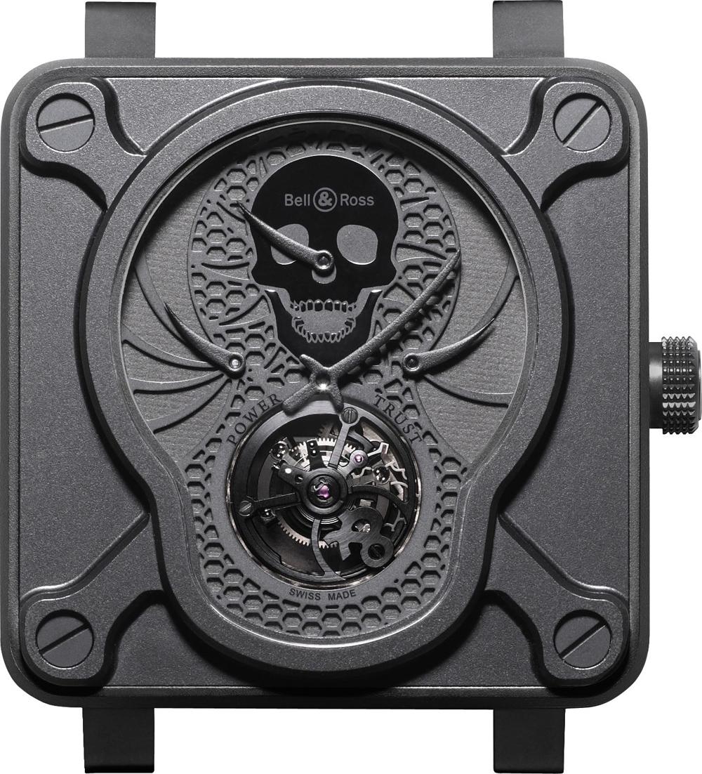Reloj BR 01 Tourbillon Skull en edición limitada de Bell & Ross