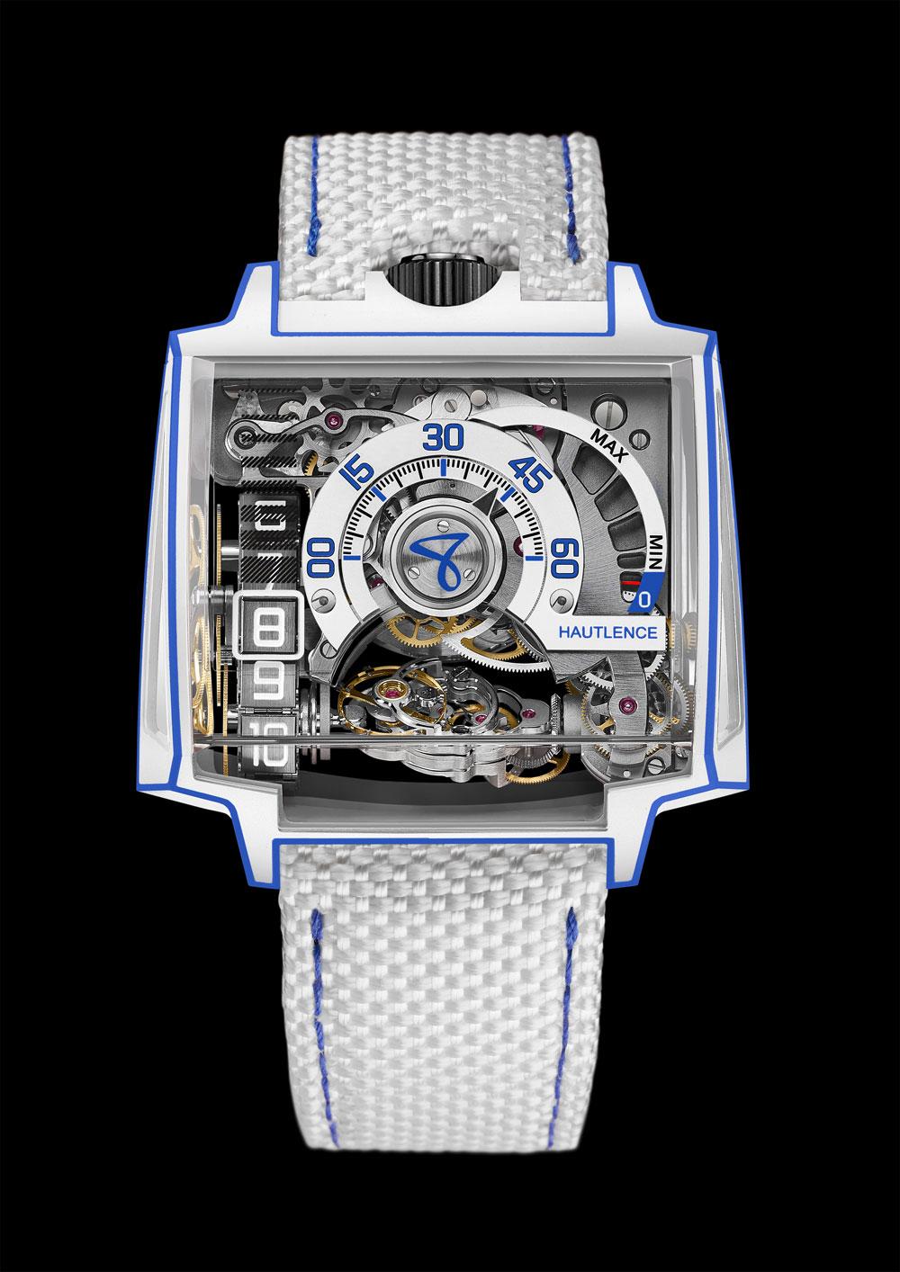 Reloj Vortex Gamma Tron de Hautlance