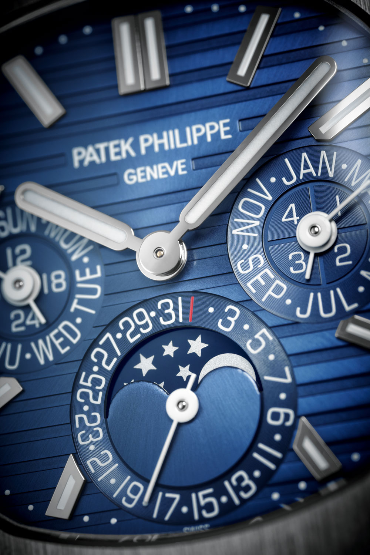Esfera Reloj Nautilus Calendario Perpetuo REF. 5740/1G-001 de Patek Philippe
