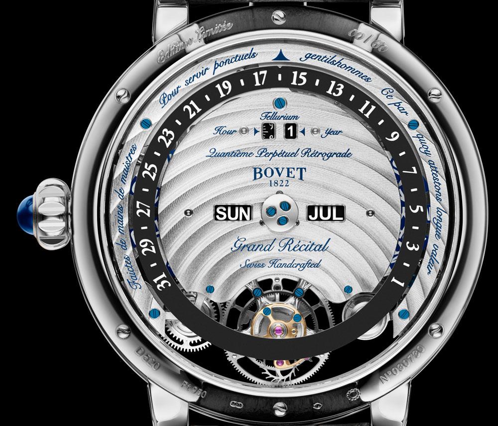 Fondo reloj astronómico Récital 22 Grand Récital