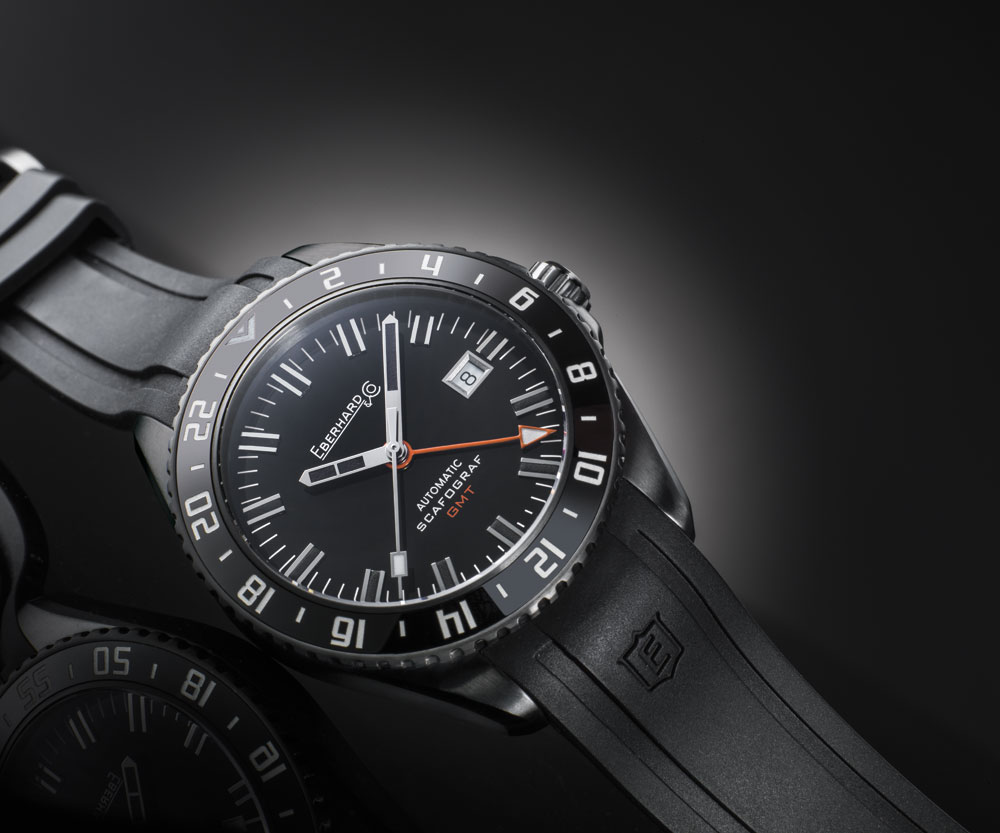 Reloj Eberhard & Co Scafograf GMT The Black Sheep Limited Edition