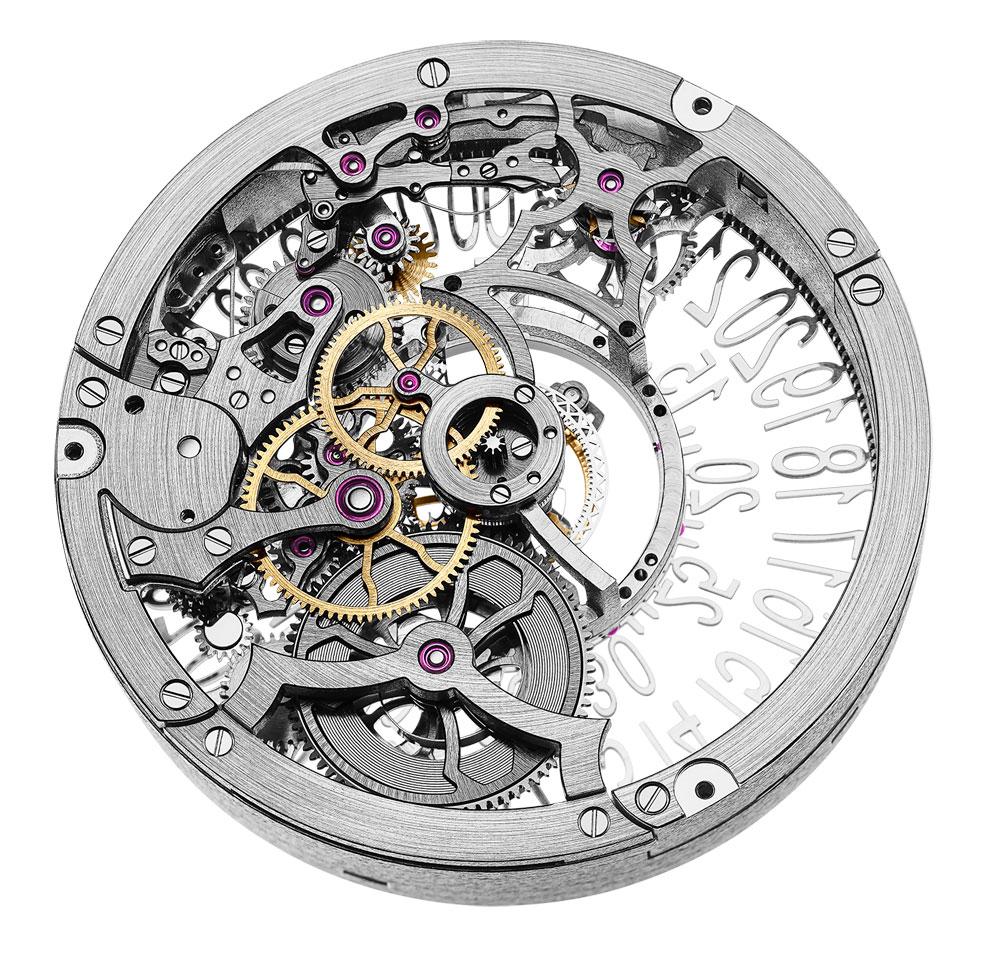 Mecanismo Reloj IO Skeleton Central Tourbillon de Hysek