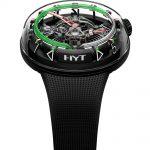 Reloj H20 de HYT ( The Hydro Mechanical Horologistic en color verde