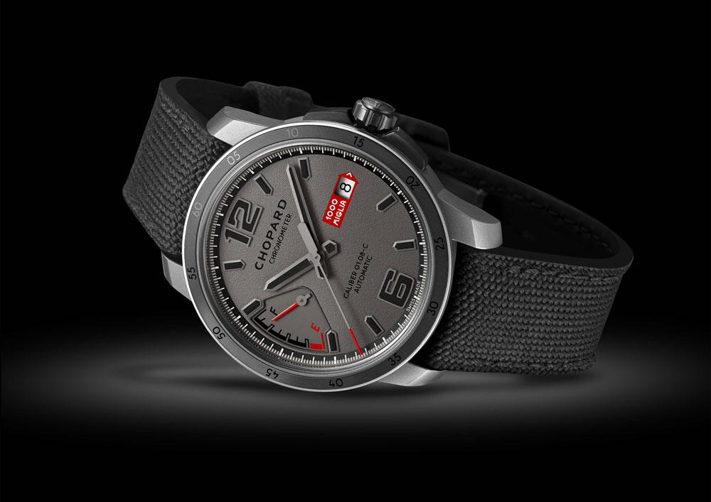 Reloj Mille Miglia GTS Power Control Grigio Speciale de Chopard Edición limitada a 1.000 ejemplares