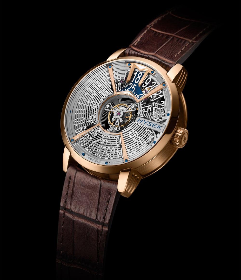 Reloj IO Skeleton Central Tourbillon de Hysek