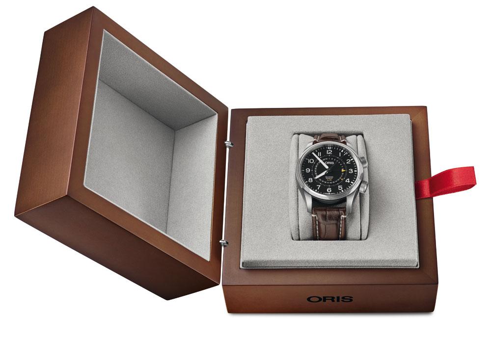 Estuche Fondo del Reloj aviador Big Crown ProPilot Alarm Limited Edition de Oris
