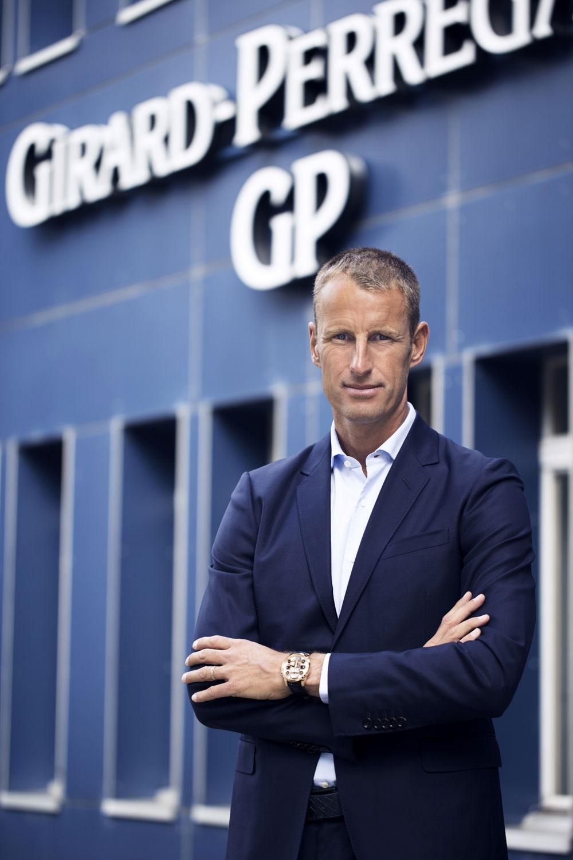 Patrick Pruniaux, CEO Girard-Perregaux