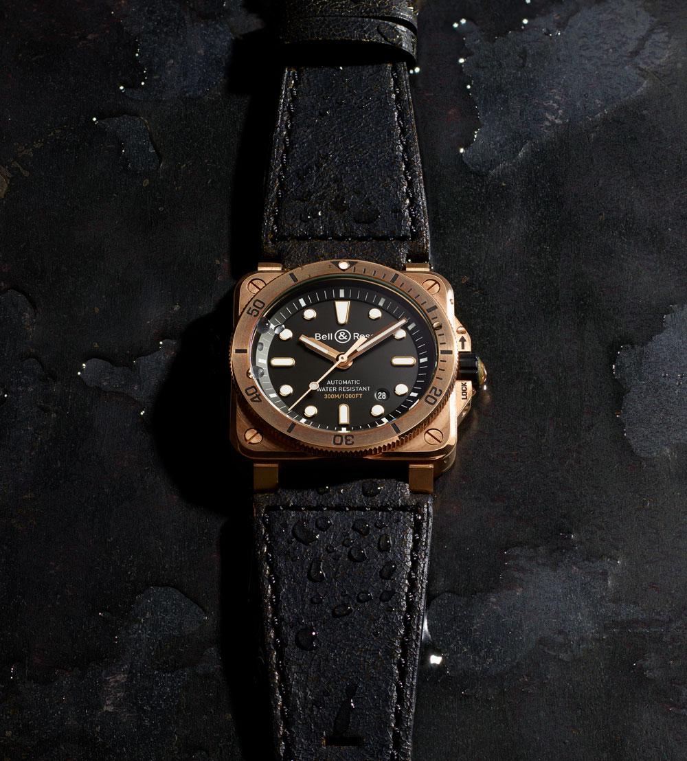 reloj de buceo BR 03-92 Diver Bronze en edición limitada a 999 ejemplares