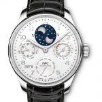 reloj IWC Portuguieser Calendario Perpetuo platino