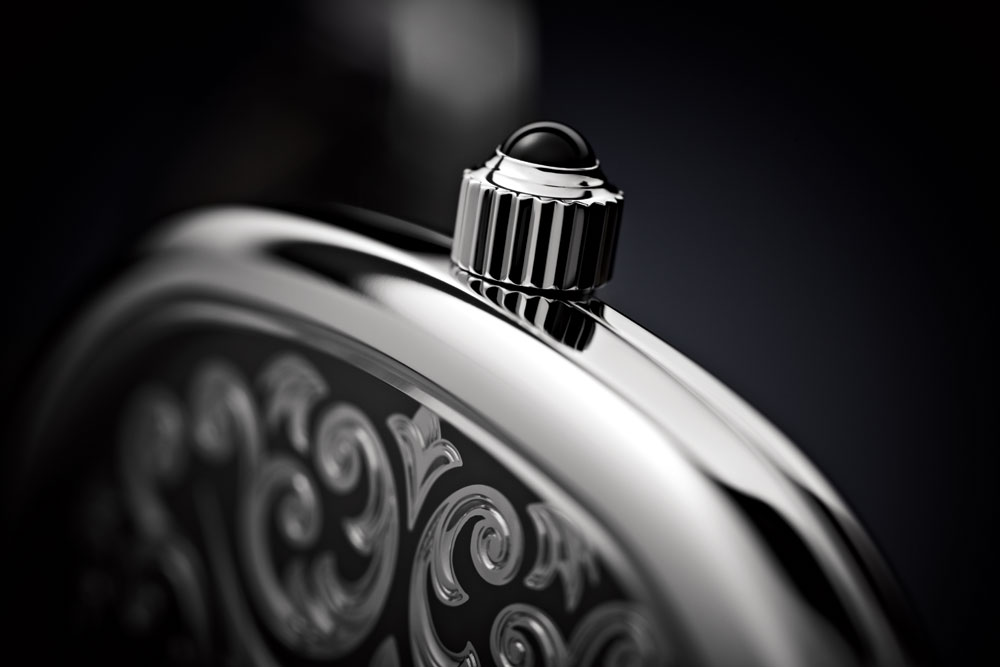 Corona Reloj masculino ultraplano Ellipse d'Or de Patek Philippe