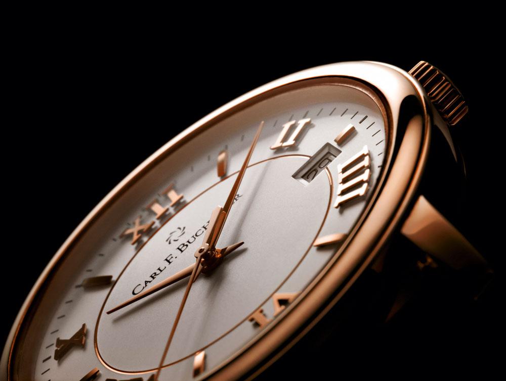 reloj clásico unisex Carl F. Bucherer colección Adamavi con mecanismo cuerda manual