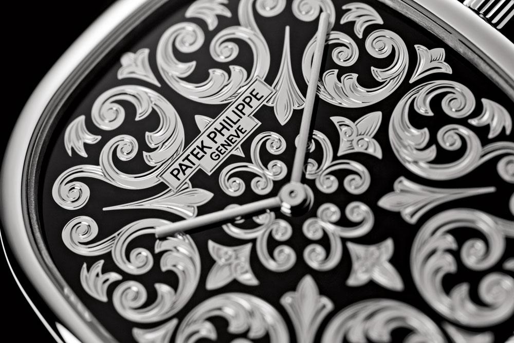 Esfera reloj masculino ultraplano Ellipse d'Or de Patek Philippe