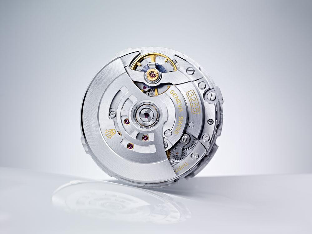 calibre 3235, manufacturado completamente por Rolex
