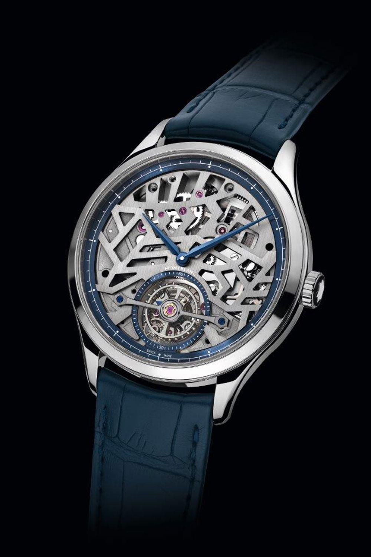 Reloj plano esqueleto con tourbillon Heritage Chronométrie Exo Tourbillon Slim y Heritage Chronométrie Exo Tourbillon Slim Openworked de Montblanc